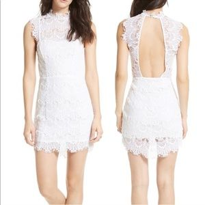 Free People NWT Day Dream Lace Dress White